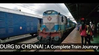 DURG to MADRAS : Journey Onboard 12851 Bilaspur-Chennai Express (Indian Railways)