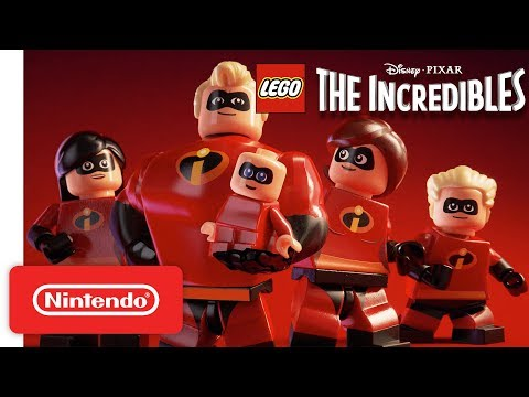 Disney PIXAR LEGO The Incredibles Announcement Trailer Nintendo Switch