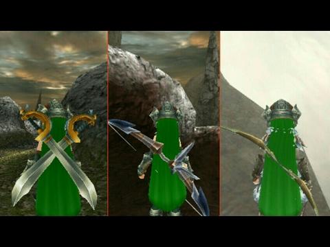 [ Toram online ] localização de uma espada e dois Arcos