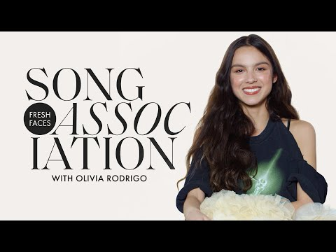 Olivia Rodrigo Sings Taylor Swift No Doubt & drivers license in a Game of Song Association ELLE