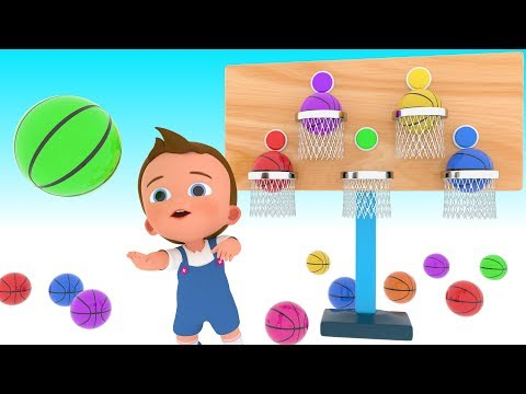 Xxx Mp4 Learn Colors For Children With Little Baby Play BasketBalls 3D Games Kids Educational Video 3gp Sex