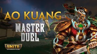 AO Kuang, Vamos a tope con el early :O - Warchi - Smite Master Duel S5