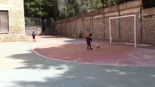 Baby fenomeno del calcio (3 anni e 9 mesi) Daniele Ticca