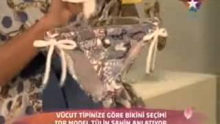 Tülin Şahin 2012 Bikini Modası   Doğru Bikini Seçimi   2012 Yaz Bikini Modası