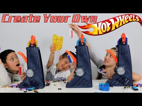 Create Customize And Race Your Own Vehicles With The Hot Wheels Fusion Factory Ckn Toys Unboxing