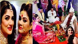 শ্রাবন্তীর দিদি স্মিতা চট্টোপাধ্যায় এবং সুজয় ঘোষ এর বিয়ে ( ছবিসহ ) | Smita Chatterjee Wedding 2016