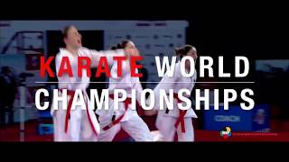 30 days to the 2018 Karate World Championships