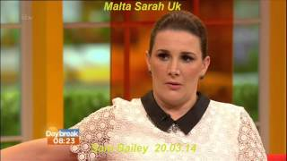 Daybreak Sam Bailey Sings and Interview 20.03.14