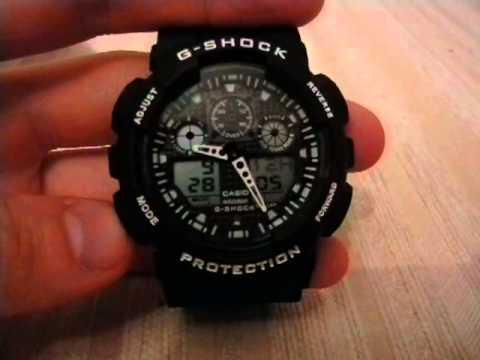 мужчина настройка китайских часов g shock protection ещё одна