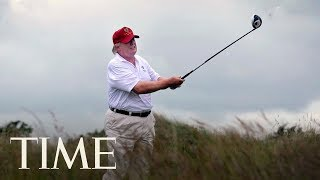 Report: President Trump Installs $50,000 Golf Simulator In The White House | TIME