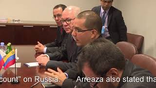 We are more than Friends We are BROTHERS! Lavrov meets Jorge Arreaza