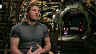 """Guardians of the Galaxy Vol. 2: Chris Pratt """"Peter Quill"""" Behind the Scenes Movie Interview"""