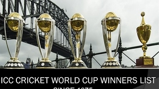 CRICKET WORLD CUP WINNERS, RUNNER UPS, MAN OF THE SERIES LIST FROM 1975 TO 2015