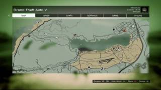 GTA5- How to find the Merryweather plane in the Alamo Sea!