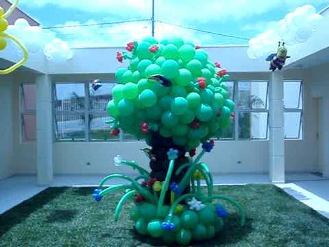 Cris Balões Decoração com Balões Inauguração Escola Especial