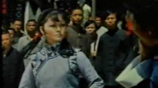 Cute girl handles drunks in street fight - Classic Kung Fu Movie Fight Scene