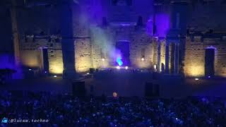 Solomun playing Blade Runner @ Cercle show, Théâtre Antique Orange