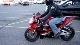 2002 Honda CBR 954rr FULL M4 Exhuast