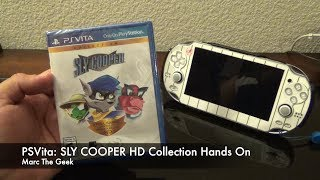 PSVita: SLY COOPER HD Collection Hands On