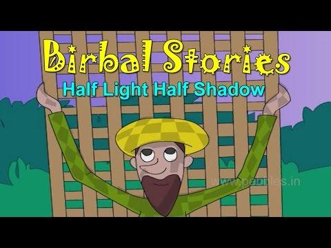 Ardha Prakash Ardhi Savli | Half Light Half Shadow | Birbal Stories in Marathi for Kids
