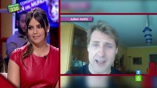 Los consejos de Julian Iantzi a Cristina Pedroche para presentar 'Pekín Express'