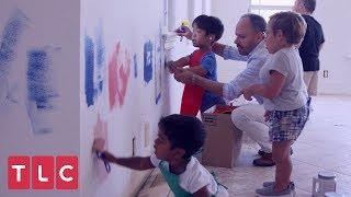 Zoey and Will Help Paint The New House | The Little Couple