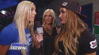 Charlotte unterbricht die Divas Championesse Nikki Bella: SmackDown – 10. September 2015