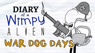 Diary of a Wimpy Alien 3 WAR DOG DAYS (Wimpy Kid / Alien / Predator Parody)