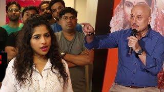Anupam Kher Reacts On RJ Malishka's BMC Controversy | Sonu Tujha Majhyavar Bharosa Nay Kay