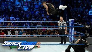 The Hype Bros vs. The Usos: SmackDown LIVE, Sept. 26, 2017