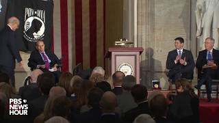 WATCH: Former Sen. Bob Dole receives Congressional Gold Medal