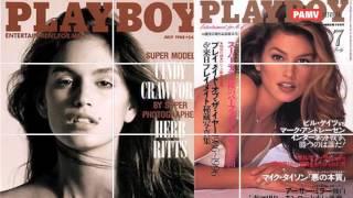 hot cindy crofard on playboy magazine cover
