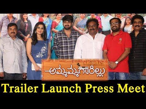 Naga Shourya Ammamma Garillu Movie Trailer Launch Press Meet || #OneVision