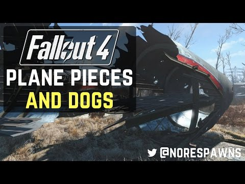 Fallout 4 Mods - Airplane Structures and Guard Dog Provisioners