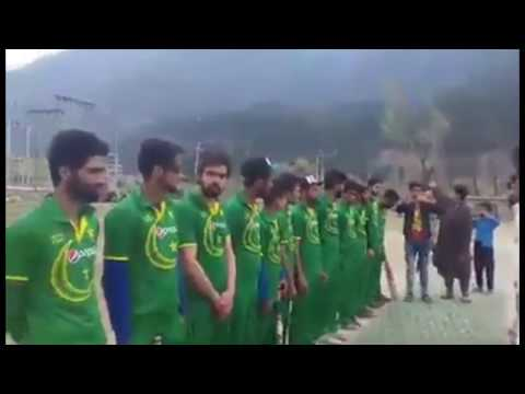 Xxx Mp4 Kashmiri Boys Played Pakistan National Anthem Before Starting Cricket Match 3gp Sex