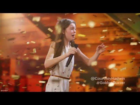 Xxx Mp4 13 Year Old Singing Courtney Hadwin O Janis Joplin In Americas Got Talent 2018 3gp Sex