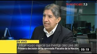 """Avelino Guillén sobre fiscal Chávarry: """"Juramentación no tiene validez jurídica"""""""