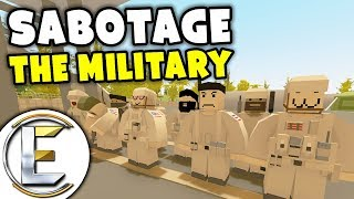 Sabotage The Military - Unturned Roleplay Outbreak Story S3#8 (Sabotage Army Vehicles)