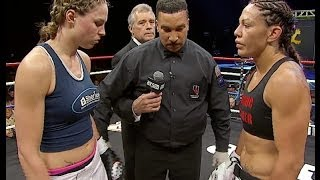 Jorina Baars Defeats Cris Cyborg at Lion Fight 14 on AXS TV