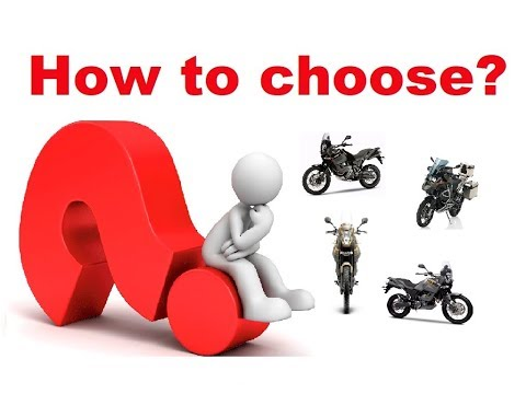 The Best Adventure Motorcycle - How to Choose?