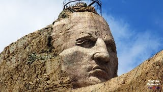 USA Indianer Crazy Horse Memorial Oglala Indianer Sioux Tashunka Witko Tȟašúŋke Witkó Caballo Loco
