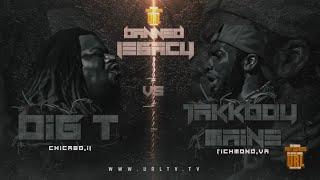 BIG T VS JAKKBOY MAINE SMACK RAP BATTLE| URLTV