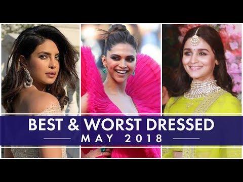 Xxx Mp4 Deepika Padukone Priyanka Chopra Alia Bhatt Kangana Ranaut Best And Worst Dressed Of The Month 3gp Sex