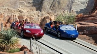 Radiator Springs Racers POV HD 1080p - Full Ride, Cars Land, Disney California Adventure Disneyland