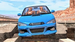 Road Trap Crashes #3 - BeamNG Drive