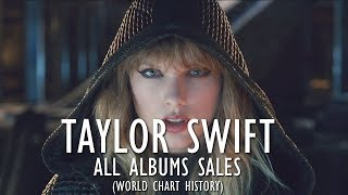 Taylor Swift: All Albums Sales (World Chart History) 2006-2017