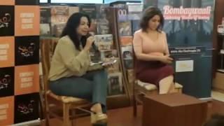 Tisca Chopra in Conversation with Kiran Manral..Bombaywaali. Celebrating Women of Bombay