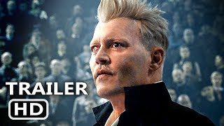 FANTASTIC BEASTS 2 Trailer (2018) Harry Potter, Johnny Depp Movie