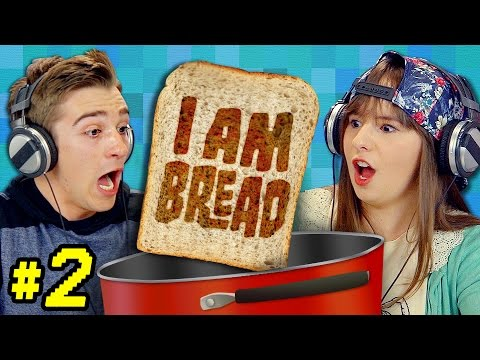 I AM BREAD 2 Teens React Gaming