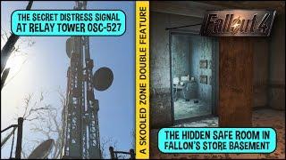 Unlocking the Hidden Distress Signal + Fallon's Secret Safe Room in Fallout 4